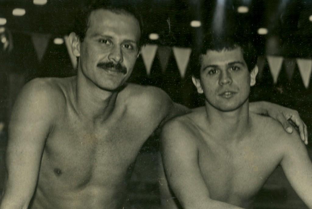 """""""Com o irmão Roger, a genética da família Madruga produziu dois nadadores de fundo finalistas em mundiais"""" DM"""