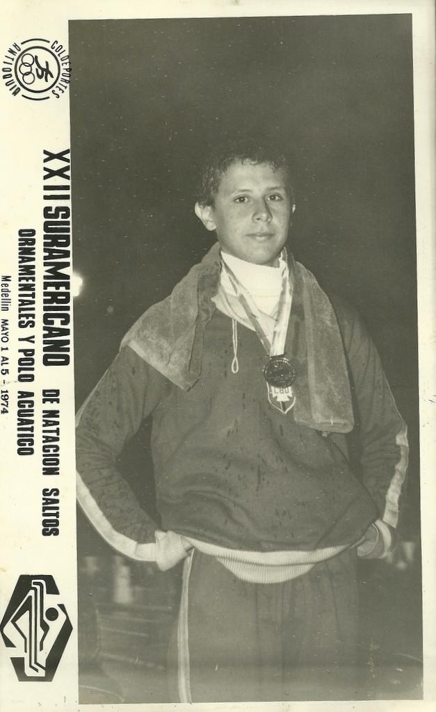 """""""Primeiro sulamericano de adultos com 15 anos, campeão dos 1500m livre, nunca fui aos de base"""" DM"""