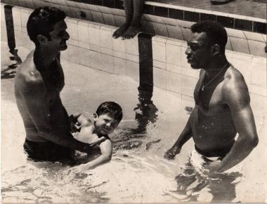 Manoel e o Rei Pelé