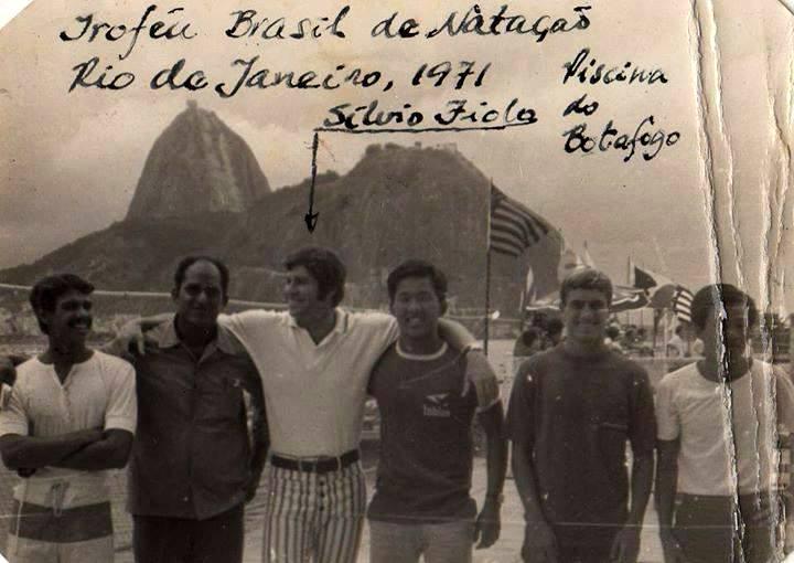 Troféu Brasil no Rio de Janeiro, com o Botafogo campeão em 1971
